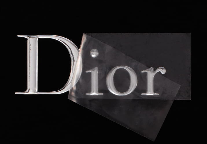 Dior Separated letters